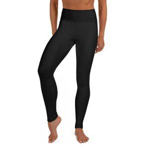 Yoga Leggings Simple Logo on Back, Right Side