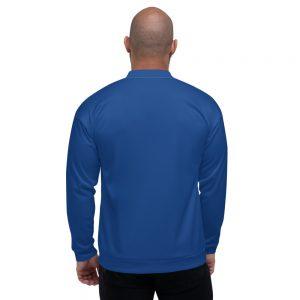 """""""Blue Bomber"""" Unisex Bomber Jacket"""