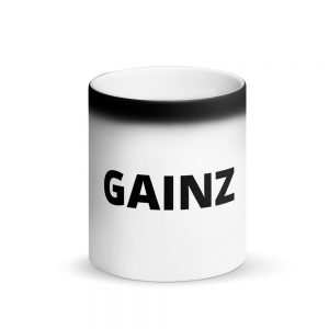 GAINZ MAGIC MUG