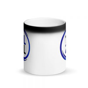1L2L Black and Blue Magic Mug